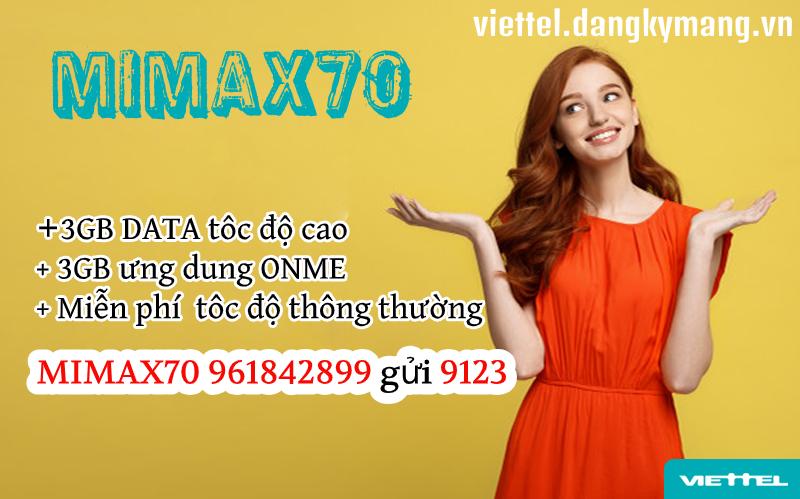 Gói MIMAX70