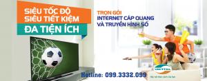 Combo truyền hình, Internet Viettel