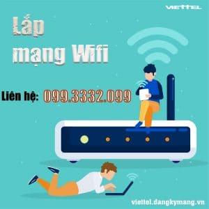 Lắp mạng wifi viettel