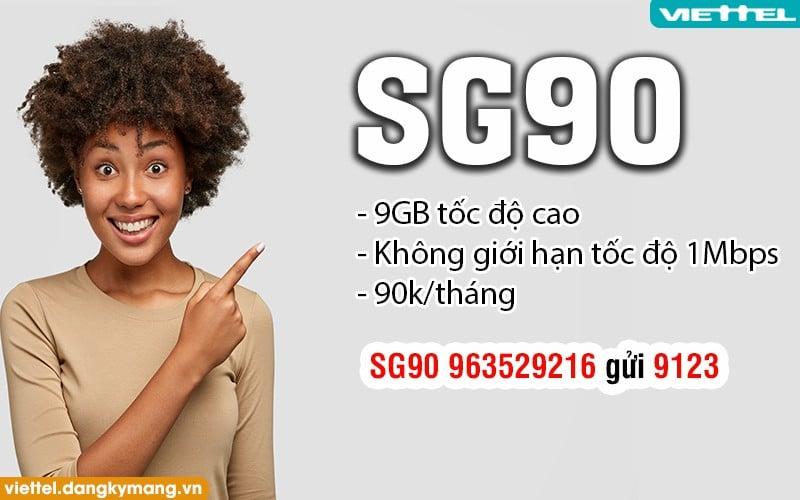 Gói SG 90 Viettel